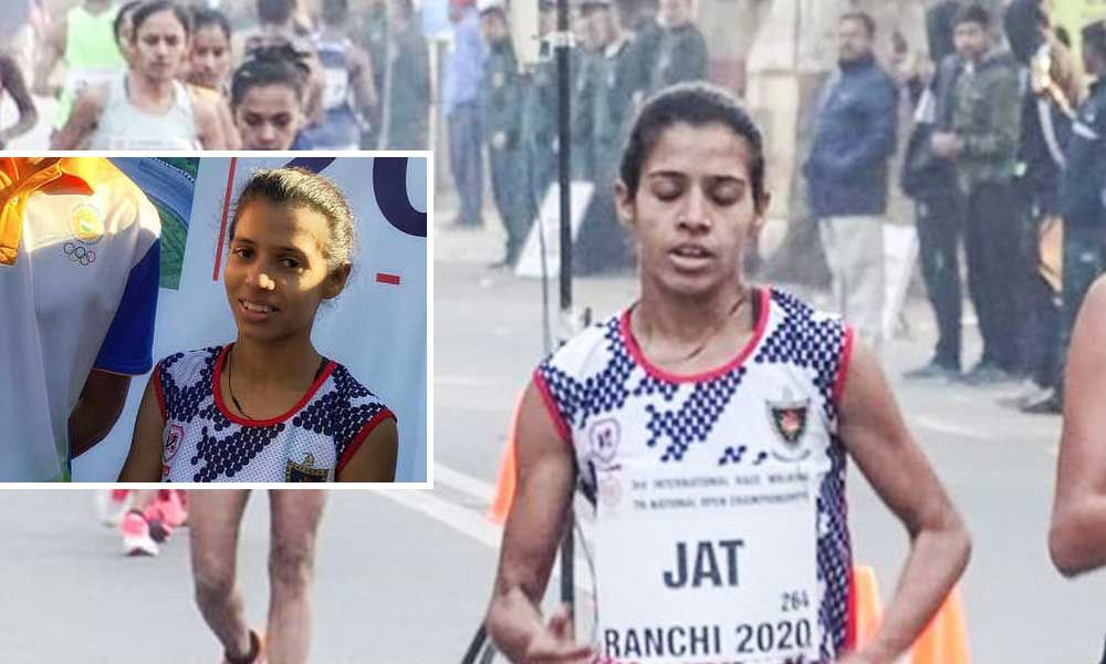 Olympic-bound Bhawana Jat renamed the Asian 20 km Race Walk Championships from Indian team