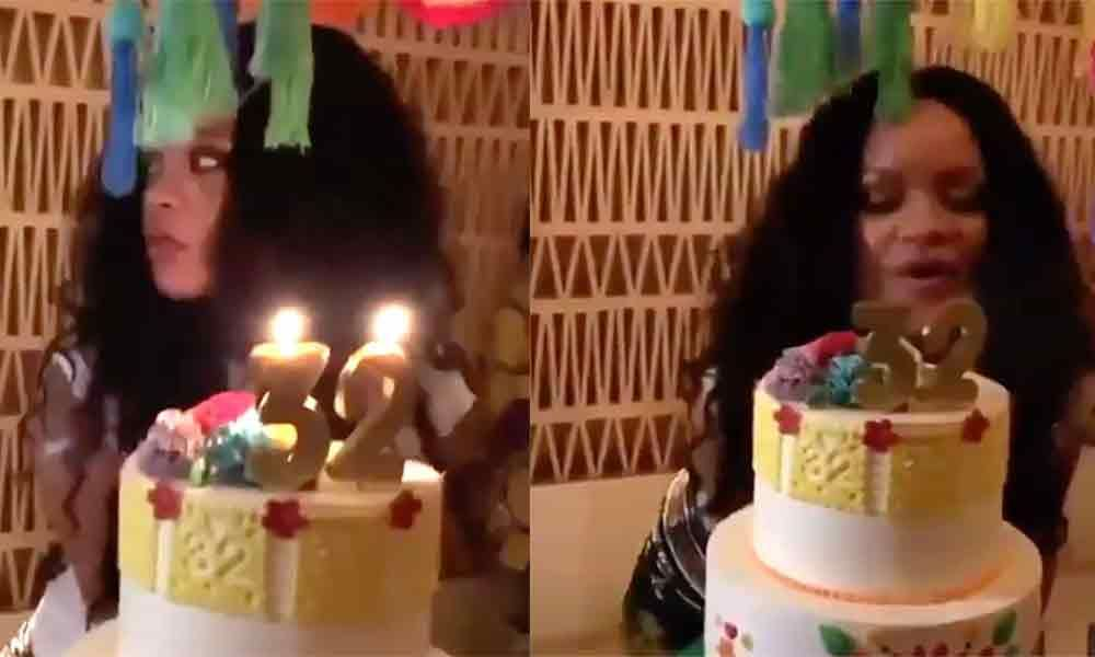Fantastic Inside Rihannas 32Nd Birthday Funny Birthday Cards Online Benoljebrpdamsfinfo
