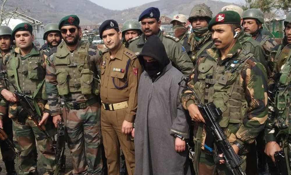 J & K: Security Forces Arrest Local Hizb Terrorist