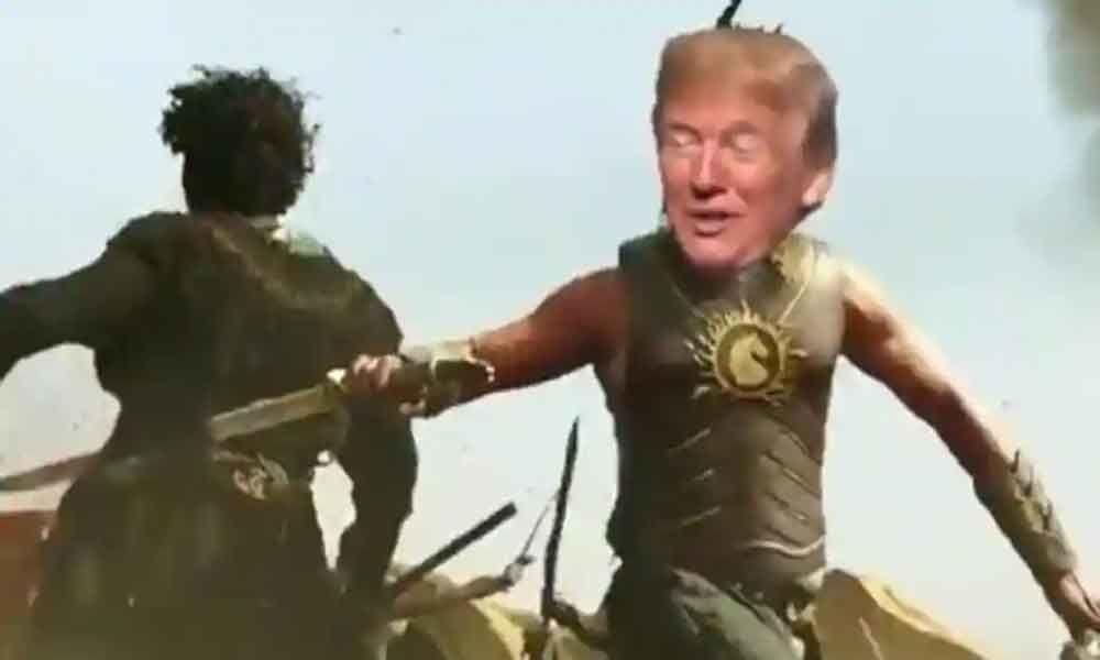 Is Trump A Fan Of Baahubali Prabhas?