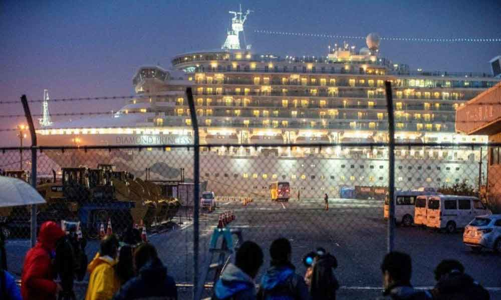 Four more Indians on board cruise ship test positive for COVID-19