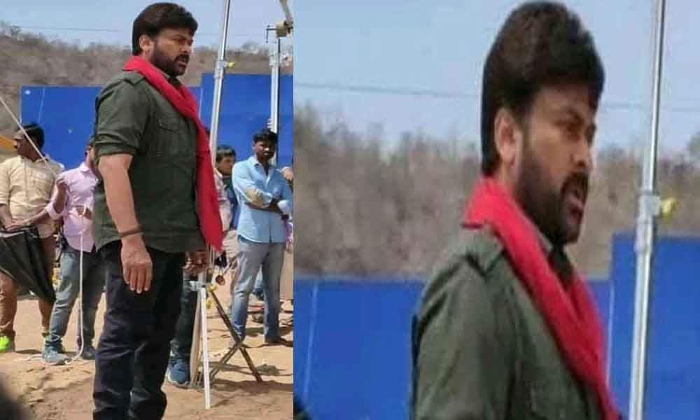 Is Chiranjeevi Look Leaked From His 152nd Movie???