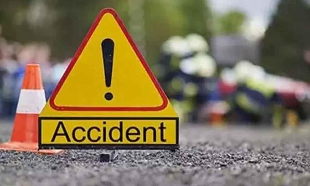 One injures as speeding car rams into other vehicles in Vijayawada