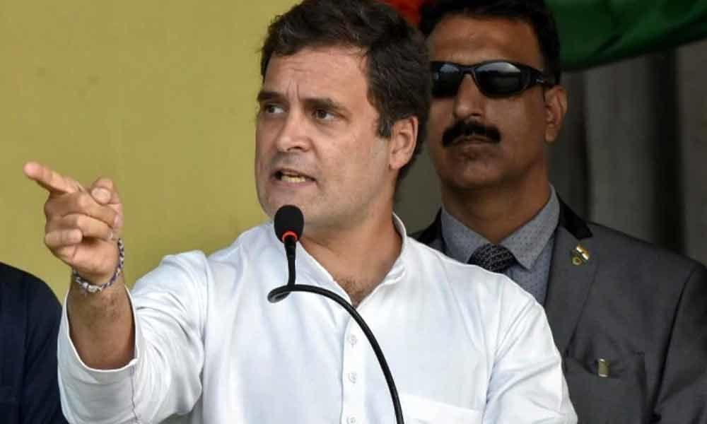 Rahul Gandhi terms northeast Delhi clashes disturbing