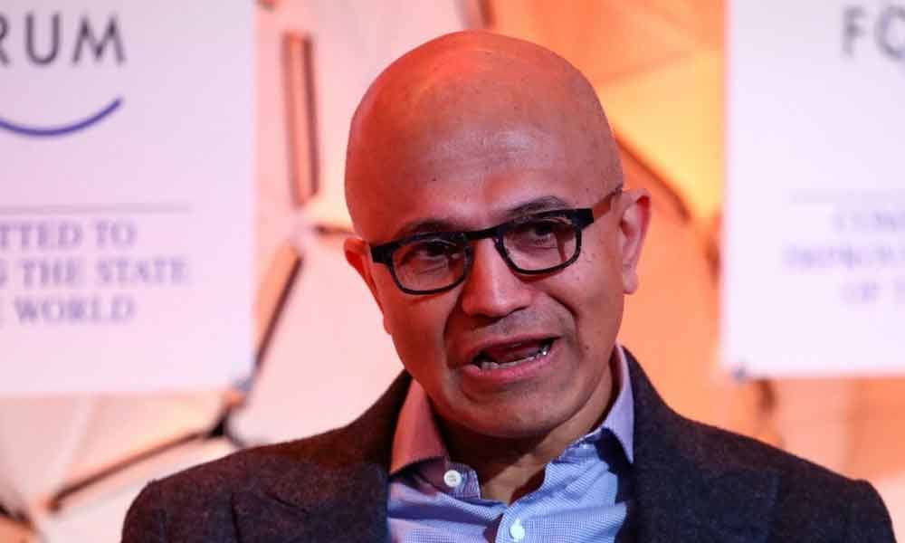 Nadella exhorts firms to develop own tech capabilities