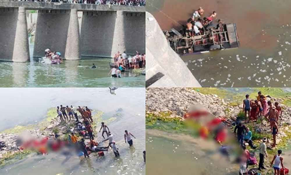 25 Dead As Bus Carrying Wedding Party Falls Into River In Rajasthan