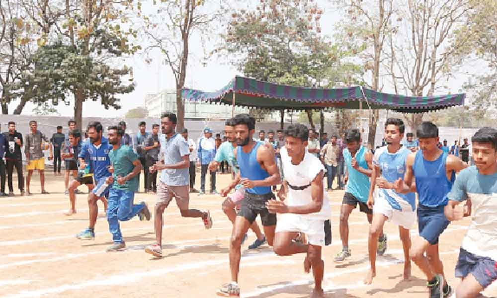 Sports fest commences at VNR Vignana Jyothi Institute of Engineering and Technology