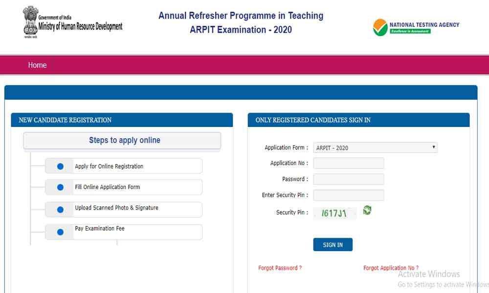 NTA ARPIT 2020: Result Delayed, Expected Soon on ntaarpit.nic.in, nta.ac.in