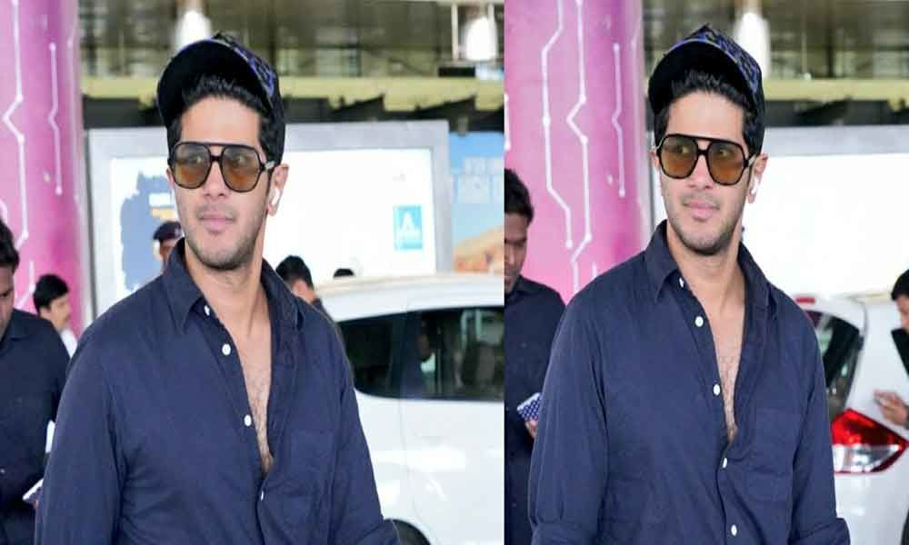 Hyderabadis Miss A Heartbeat After Bumping Into Dulquer Salmaan At Airport