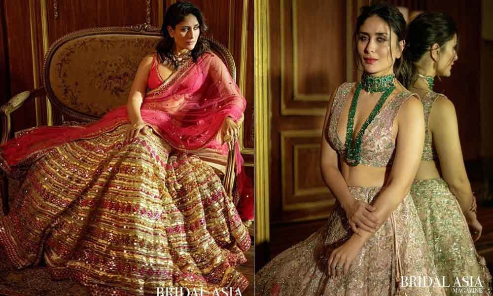 Kareena Kapoor Looks Gorgeous In Bridal Asia Magazine Photo Shoot
