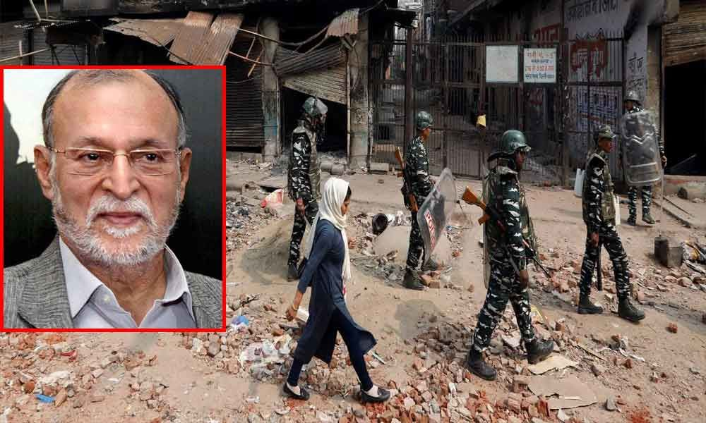 Delhi Lieutenant Governor Anil Baijal To Visit Riot-Hit Areas Today