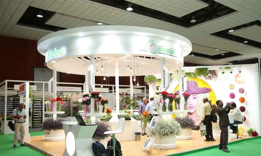 Hyderabad: International flora expo kicks off at Hitex