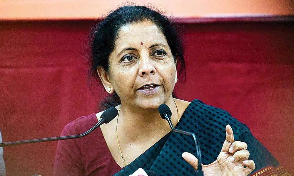 Development Finance Institution to be created to help fund the Rs 102-lakh crore infrastructure funding says FM Nirmala Sitharaman