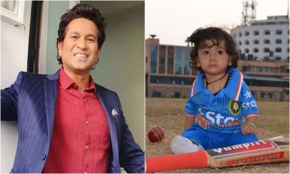 Sachin Tendulkar wishes 10-month-old fan all the very best in viral post. Internet loves