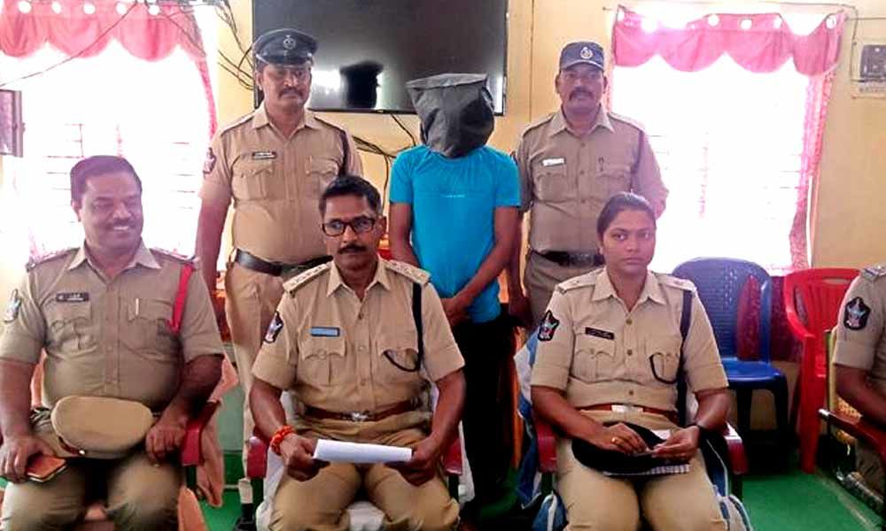 Son held for killing his mother in Kurnool district