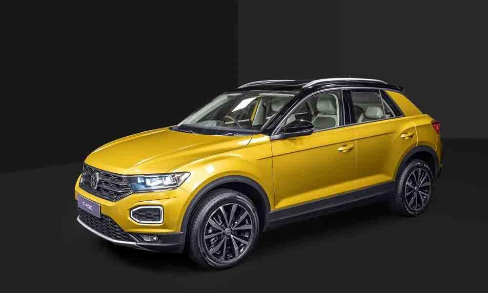 Volkswagen drives in T-Roc SUV