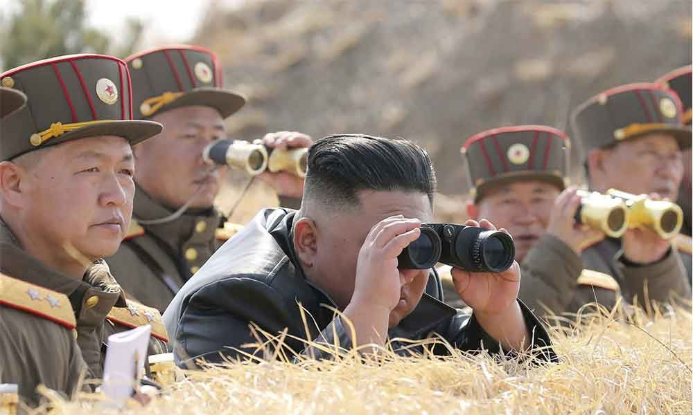 North Korea fires two missiles into sea