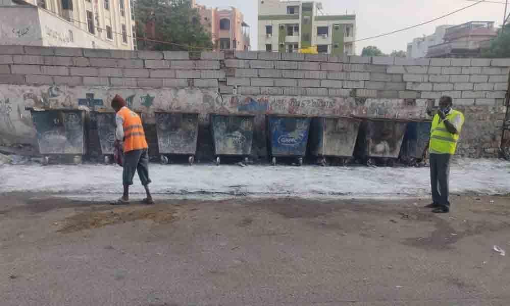 Hyderabad Indira Nagar Gets Clean Bin Points