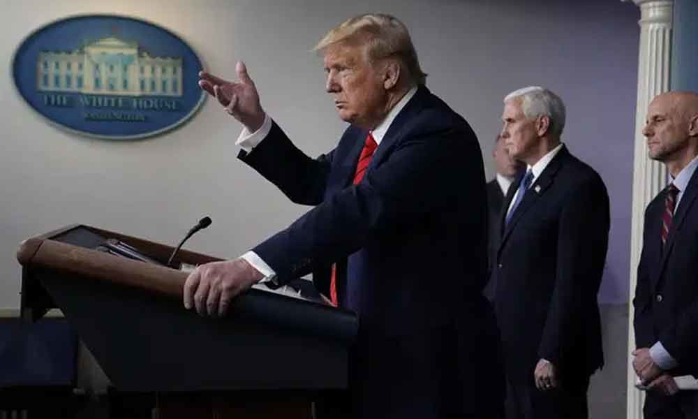 Presidents in health crises: Trump more hands-on than many
