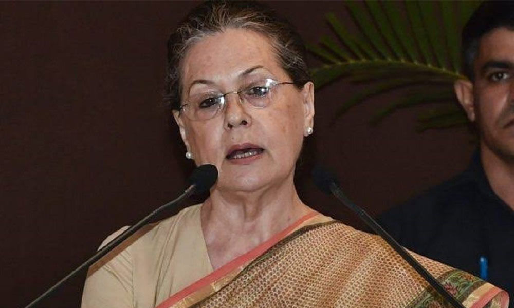 Take care of unorganised sector workers, Sonia Gandhi tells Cong CMs
