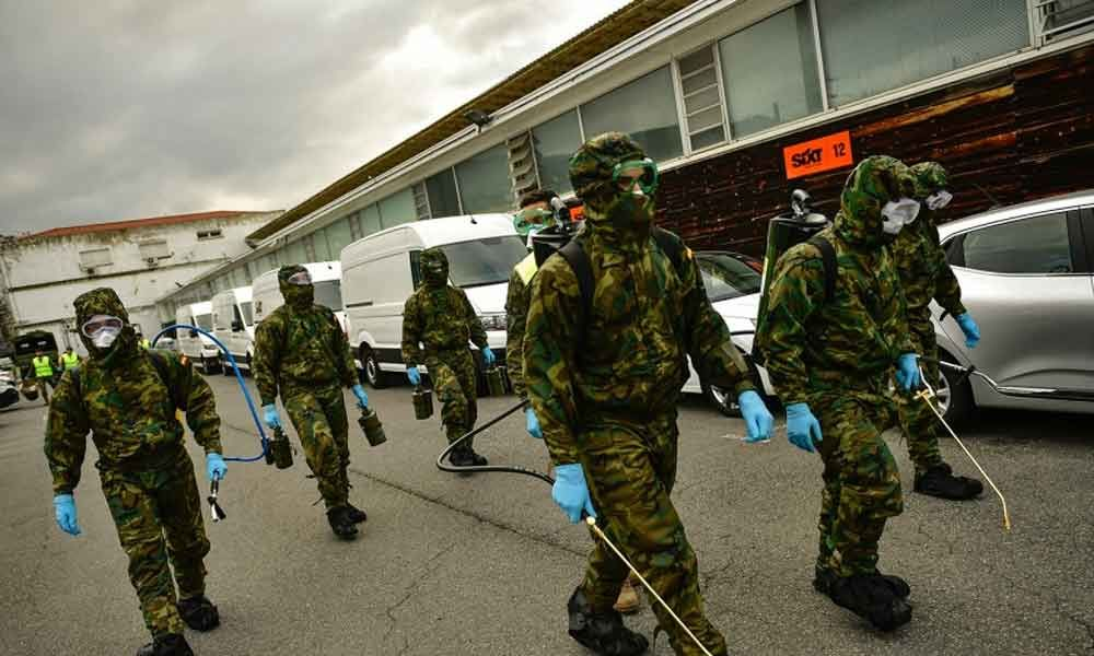 Spanish army finds bodies in nursing homes