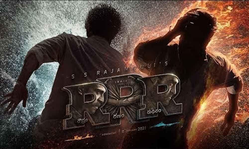 RRR Motion Poster: Roudhram Ranam Rudhiram