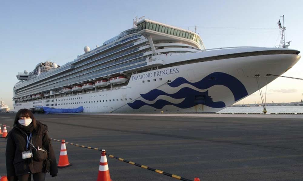 Coronavirus-striken Diamond Princess leaves Yokohama sans destination