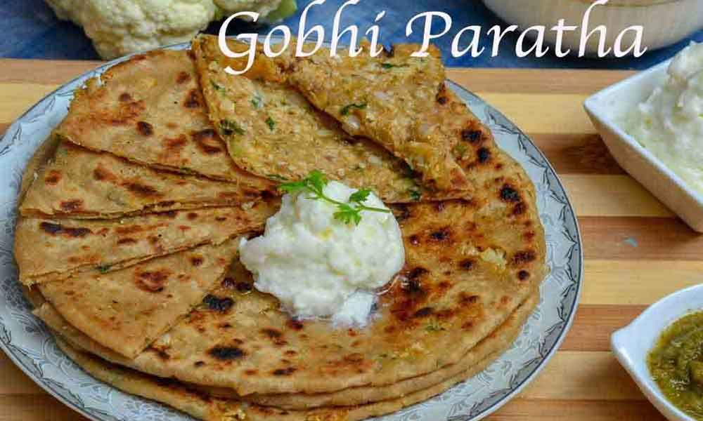 Gobi Paratha: Amazing Lunch Recipe By Famous Chef Tarla Dalal