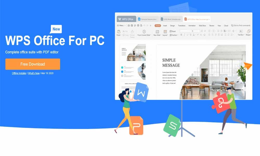 Everything About WPS Office 2020