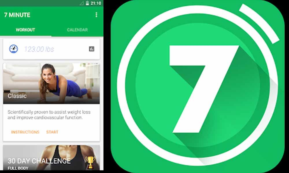 7 Minute Workout Application To Stay Fit