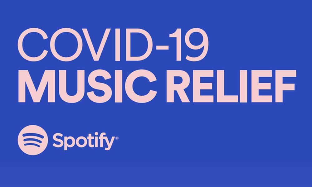 Spotify Announces Music Relief Fund