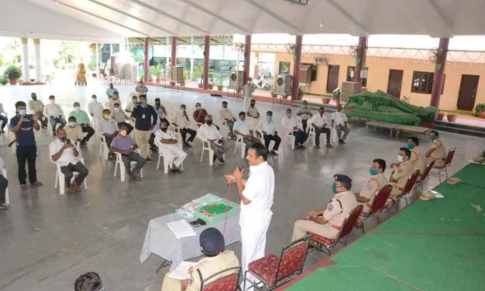 Hyderabad: Ration dealers meeting held in LB Nagar