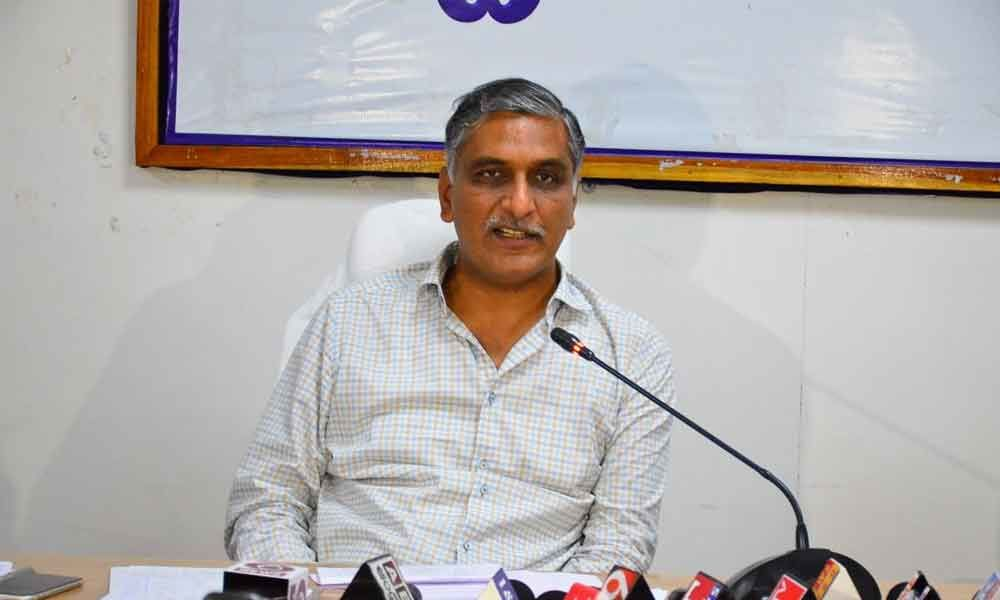 Check Corona virus with self-control: Harish Rao