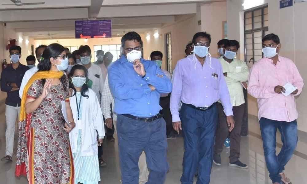 Nellore: Quarantine ward made regional center