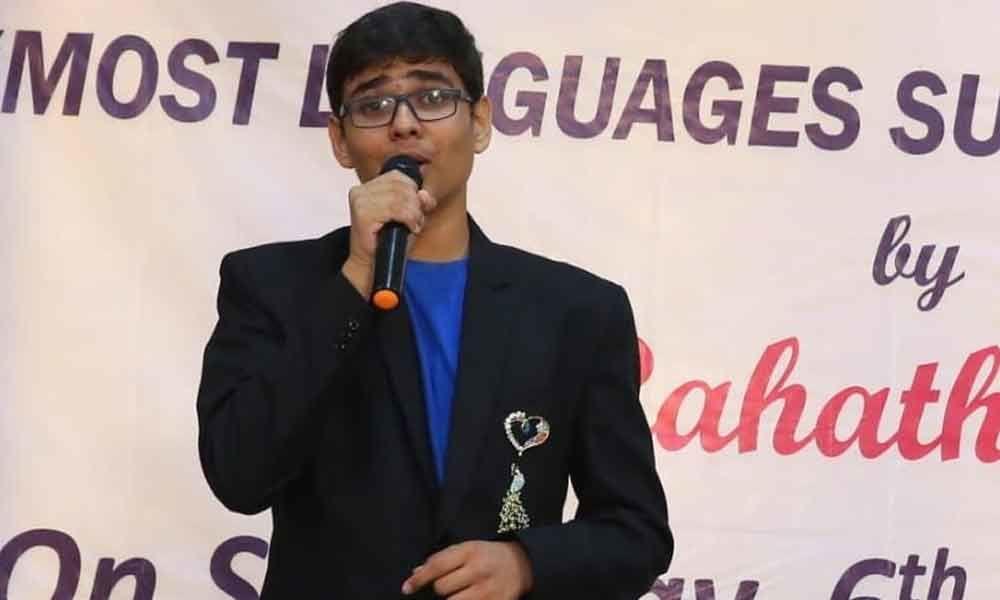 Vijayawada: City student enters Guinness Book of Records