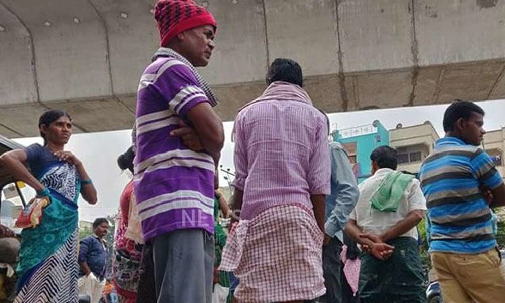 Hyderabad: Builders body told to provide balm to migrant labour lockdown pain
