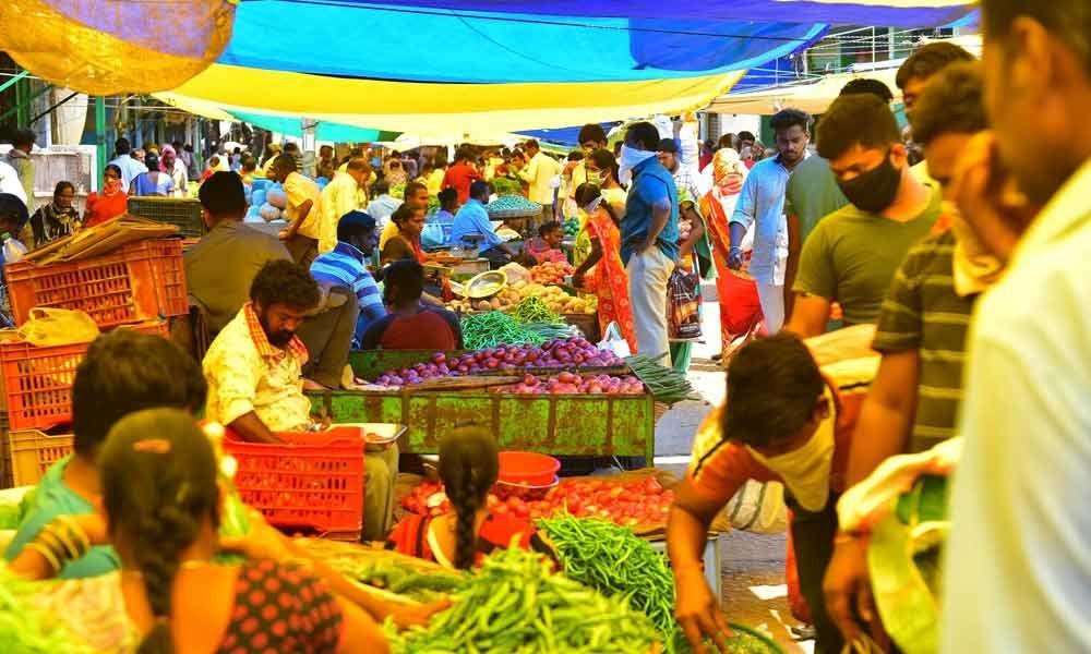 Hyderabad: Traders make hay amid corona scare