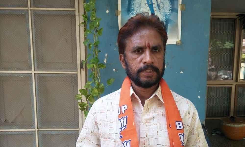Kakinada: BJP district secretary Rambala Venkateshwar Rao says PM Gareeb Kalyan Yojana to benefit poor