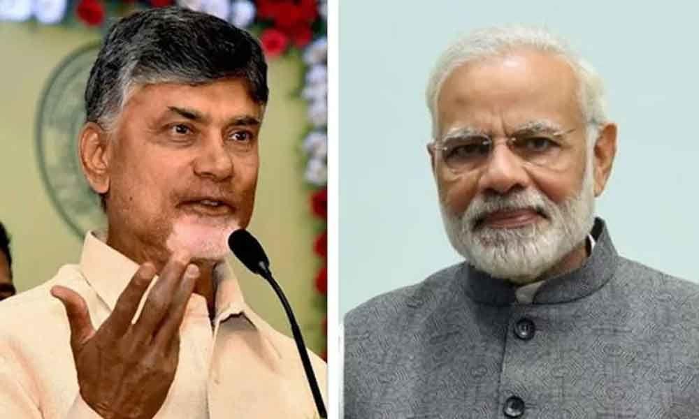 Chandrababu writes to PM Modi, lauds centre