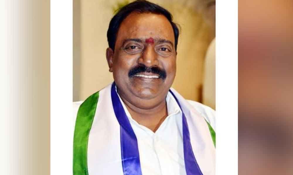 Tirupati: MP B Durga Prasad allocates `25 lakh  for corona relief operations