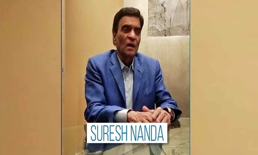 Suresh Nanda emphasises upon the need of joint effort to help the needy amid Covid-19 crisis