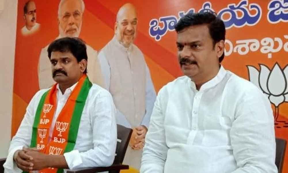 Visakhapatnam: BJP MLC P V N Madhav demands disqualification of YSRC leaders in elections