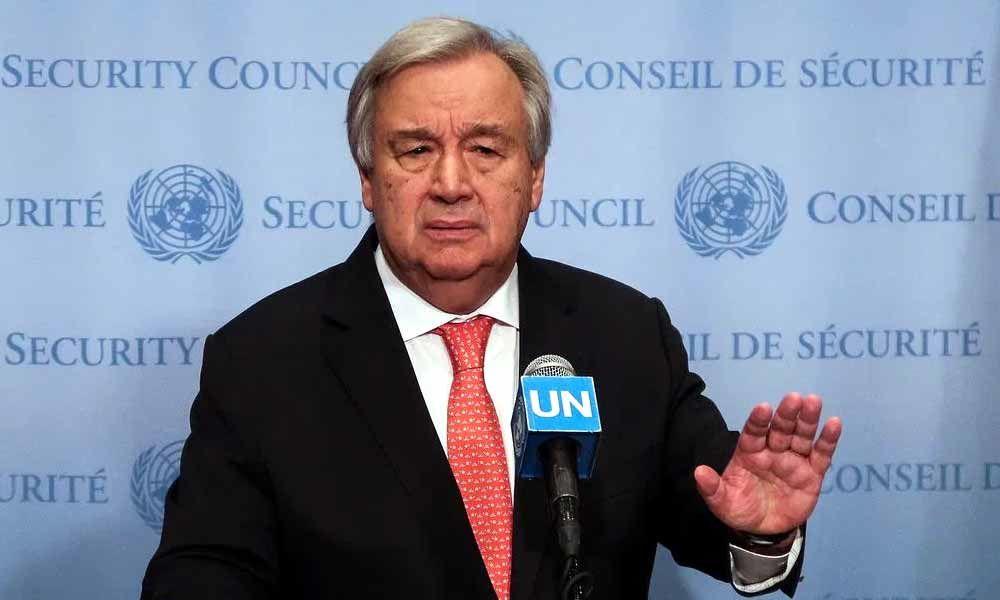 UN chief calls for solidarity in Eid message