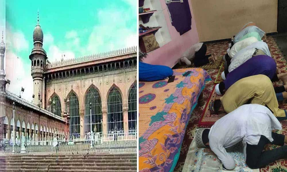 Telangana: Muslims offer Juma-tul-Vida prayers at home as Mecca masjid marked as red zone