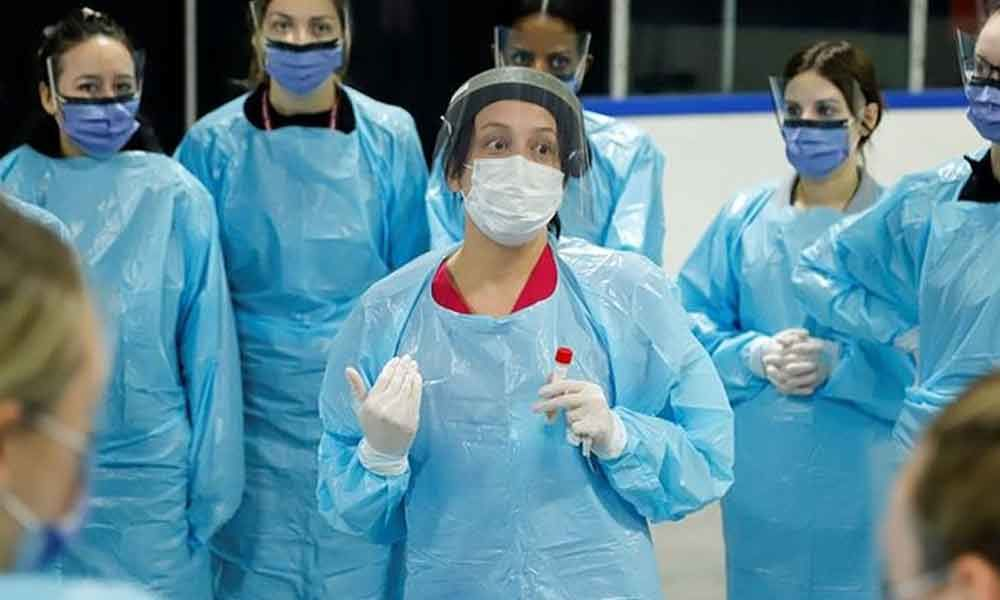 Who will protect the medical teams from the virus?