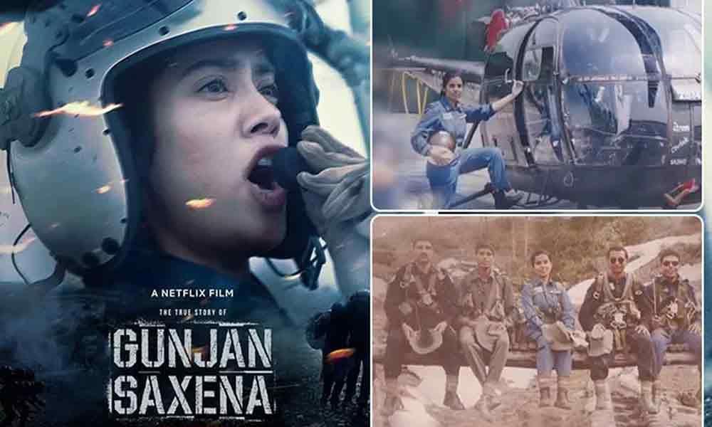 Janhvi Kapoor Starrer Gunjan Saxena The Kargil Girl To Premiere On Netflix