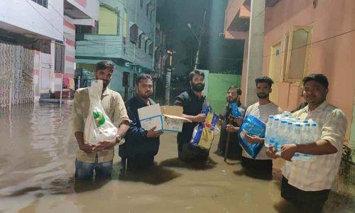 Hyderabad: MIM henchmen attack NGO busy in relief work
