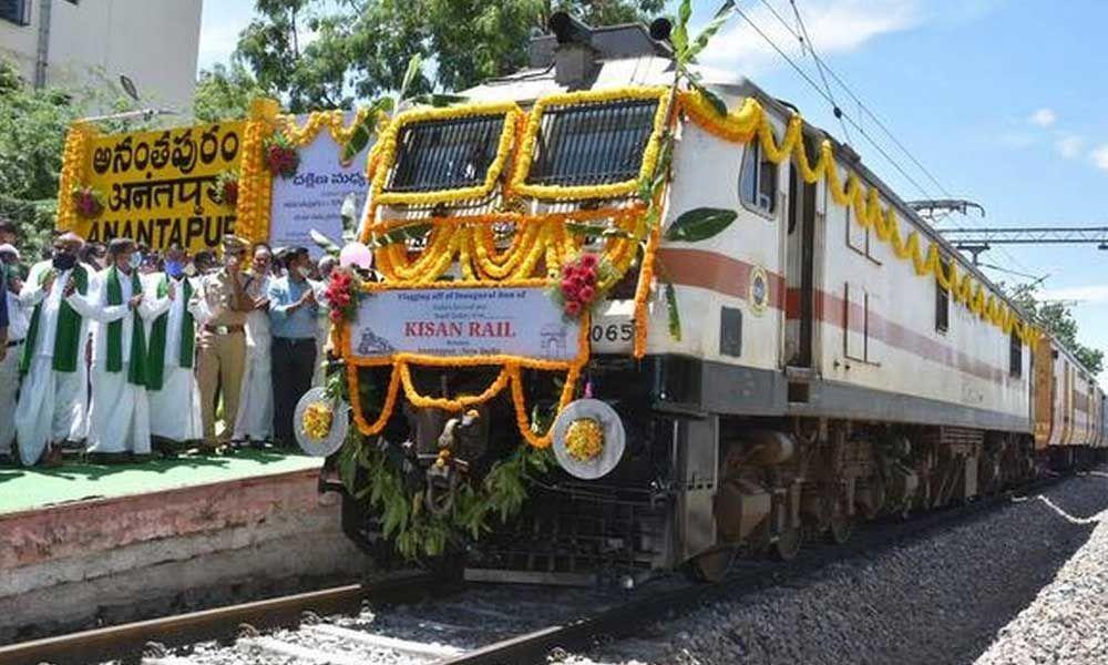 Anantapur: Kisan Rail bags SKOCH silver award