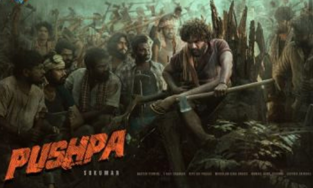 Allu Arjun's Pushpa movie first look gets 30 million views in 2 days