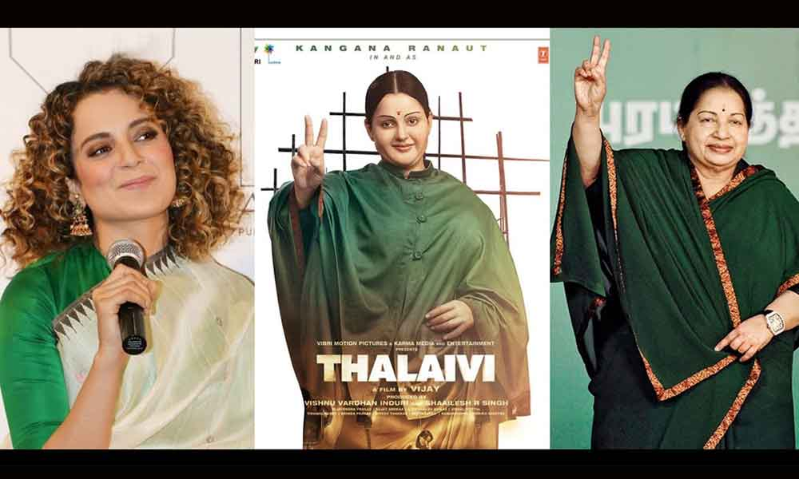 There Is No Change In The Release Date Of Kangana Ranaut Starrer 'Thalaivi'  Movie